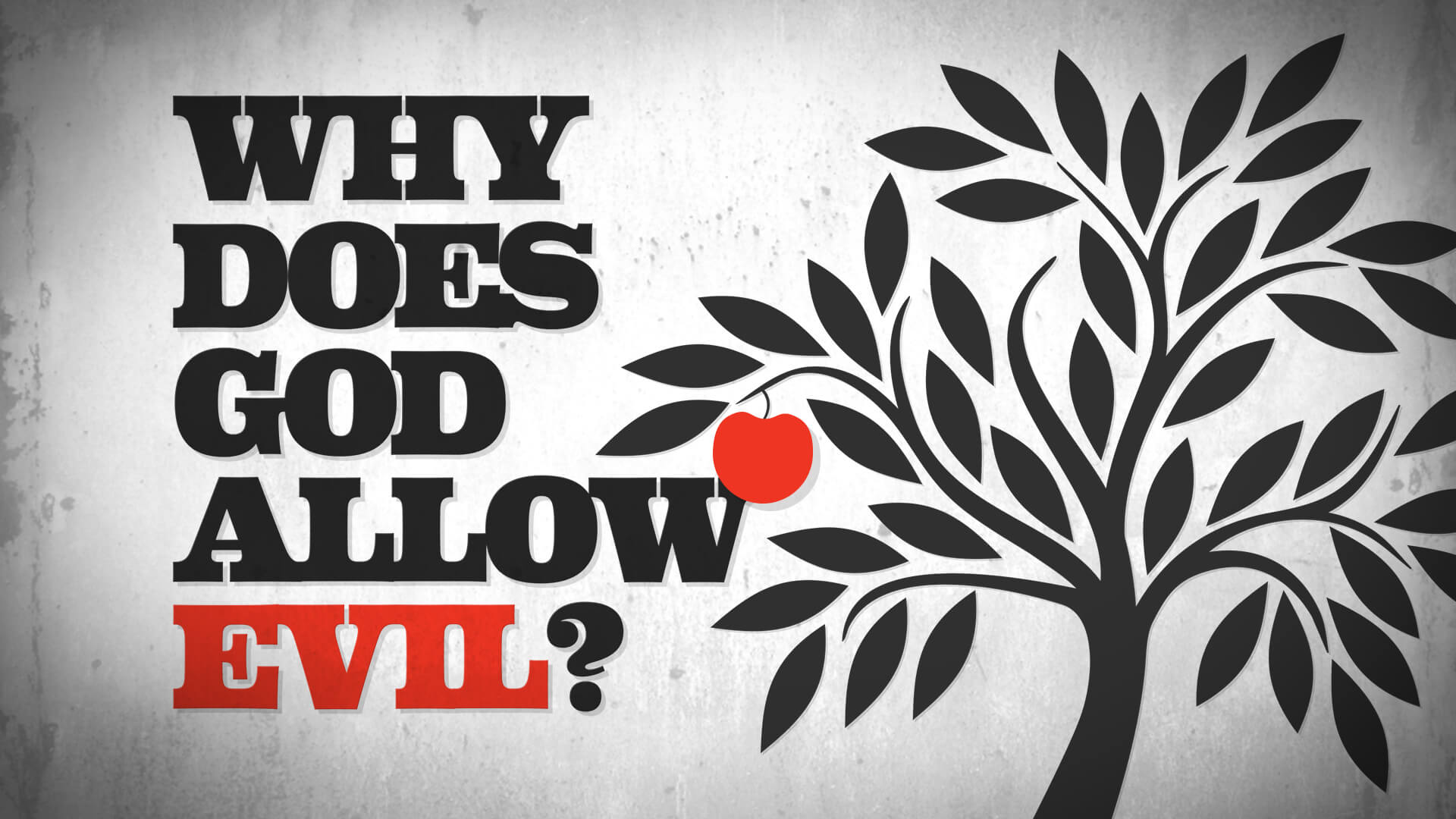 why does god allow evil There is no doubt that sin, and the evil that accompanies it, exists in this world when atrocious examples of evil come to our attention, people commonly wonder why god.