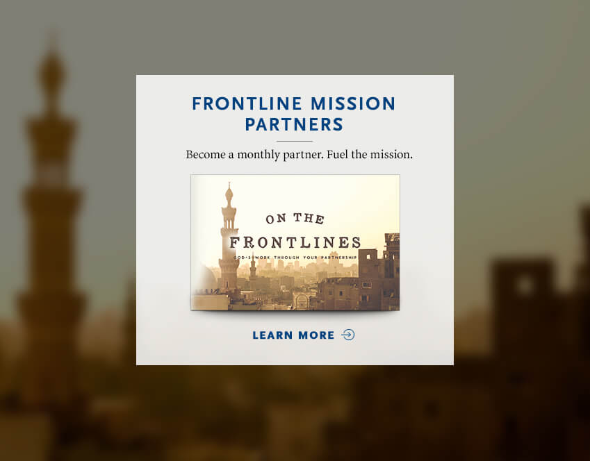 Become a Frontline Mission Partners
